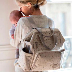 Walking Mum Mochila Dreamer Bege - Pelargos Baby